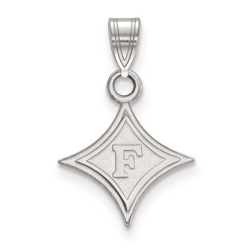 SS002FUU: SS LogoArt Furman University Small Pendant