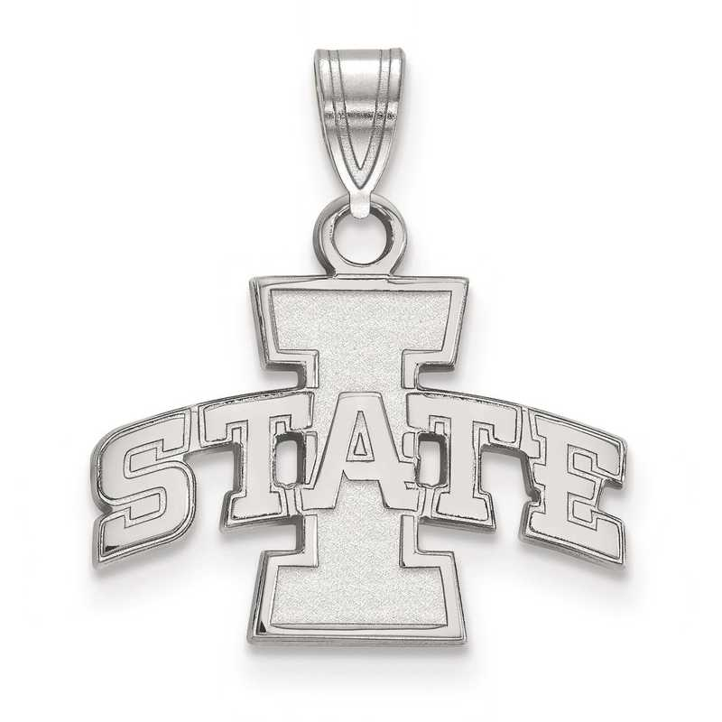 SS002IAS: SS LogoArt Iowa State University Small Pendant