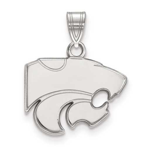 SS002KSU: SS LogoArt Kansas State University Small Pendant