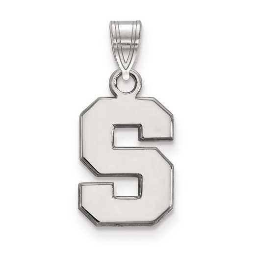 SS002MIS: SS LogoArt Michigan State University Small Pendant