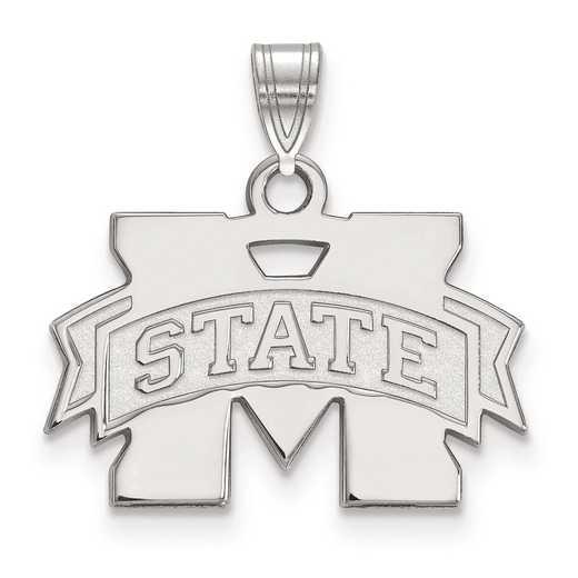 SS002MSS: SS LogoArt Mississippi State University Small Pendant