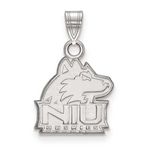 SS002NIU: SS LogoArt Northern Illinois University Small Pendant