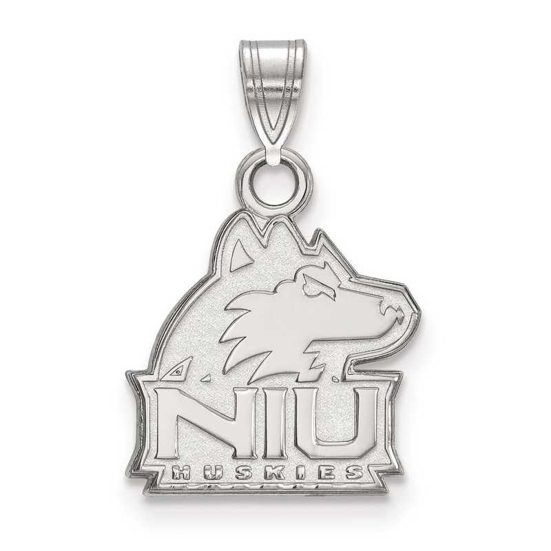 SS002NIU: SS LogoArt Northern Illinois University Small Pendant