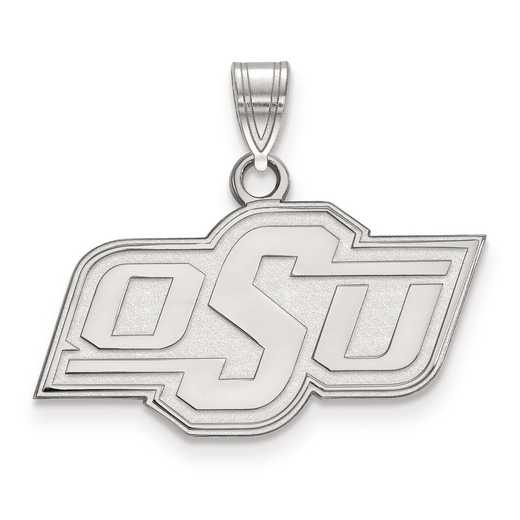 SS002OKS: SS LogoArt Oklahoma State University Small Pendant