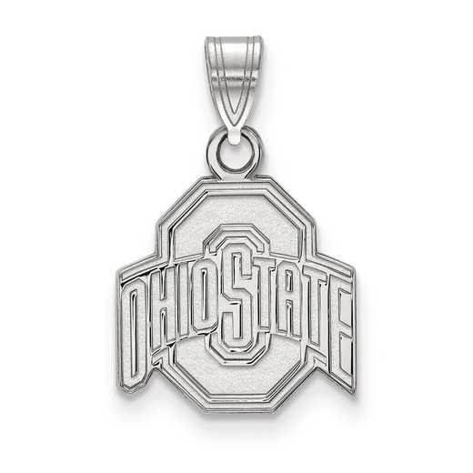 SS002OSU: SS LogoArt Ohio State University Small Pendant