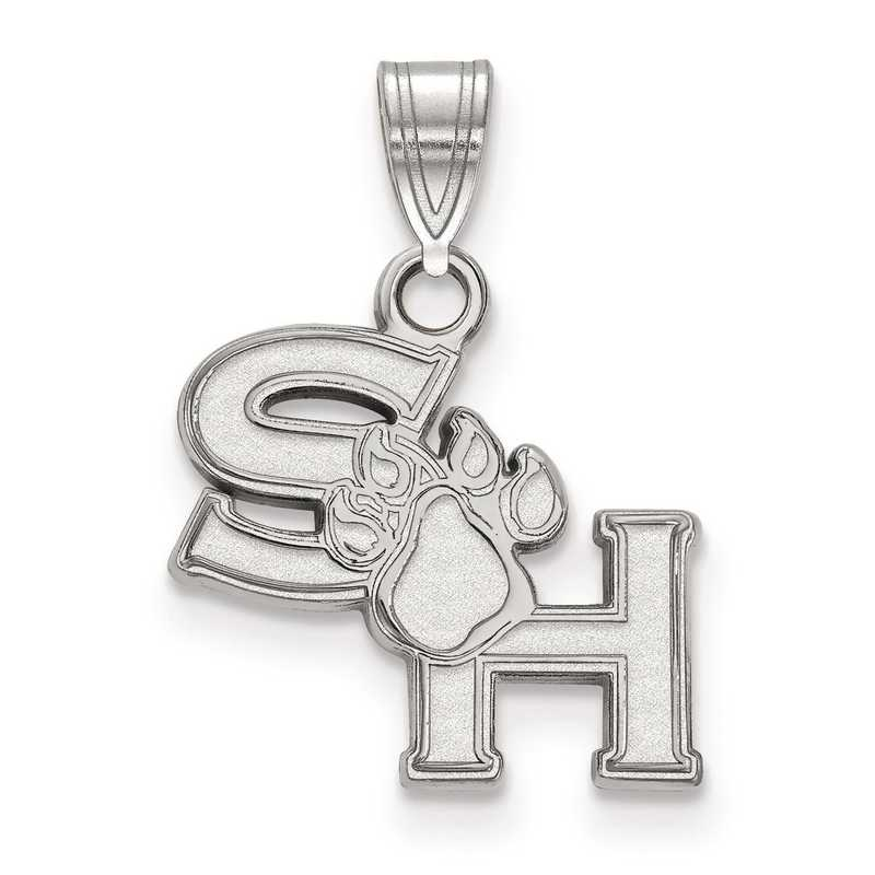 SS002SHS: SS LogoArt Sam Houston State University Small Pendant
