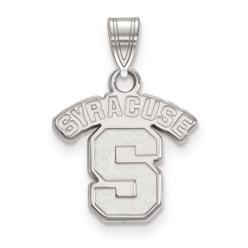 SS002SYU: SS LogoArt Syracuse University Small Pendant