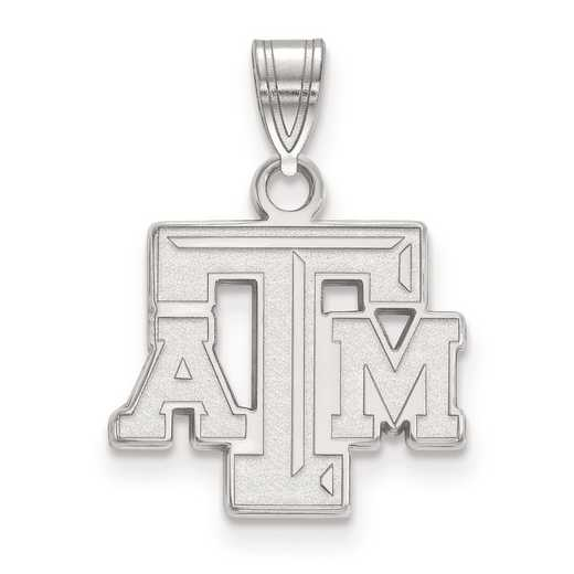 SS002TAM: SS LogoArt Texas A&M University Small PEND