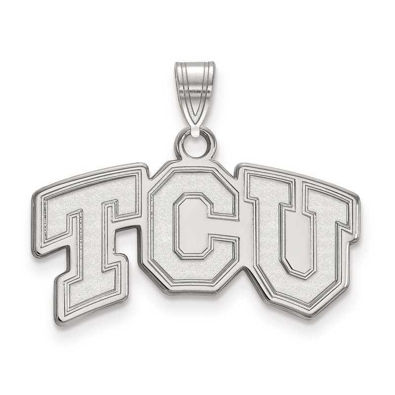 SS002TCU: SS LogoArt Texas Christian University Small PEND