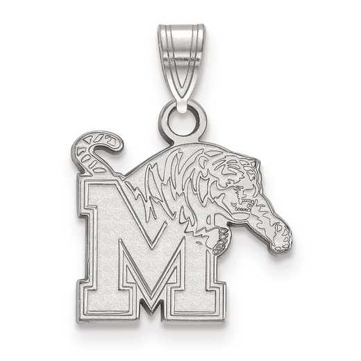 SS002UMP: SS LogoArt University of Memphis Small PEND