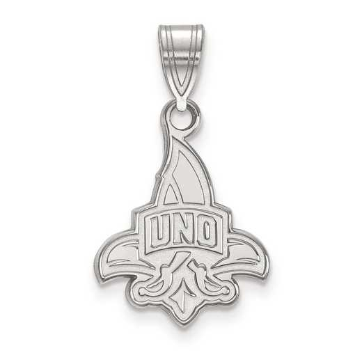SS002UNO: SS LogoArt University of New Orleans Medium PEND