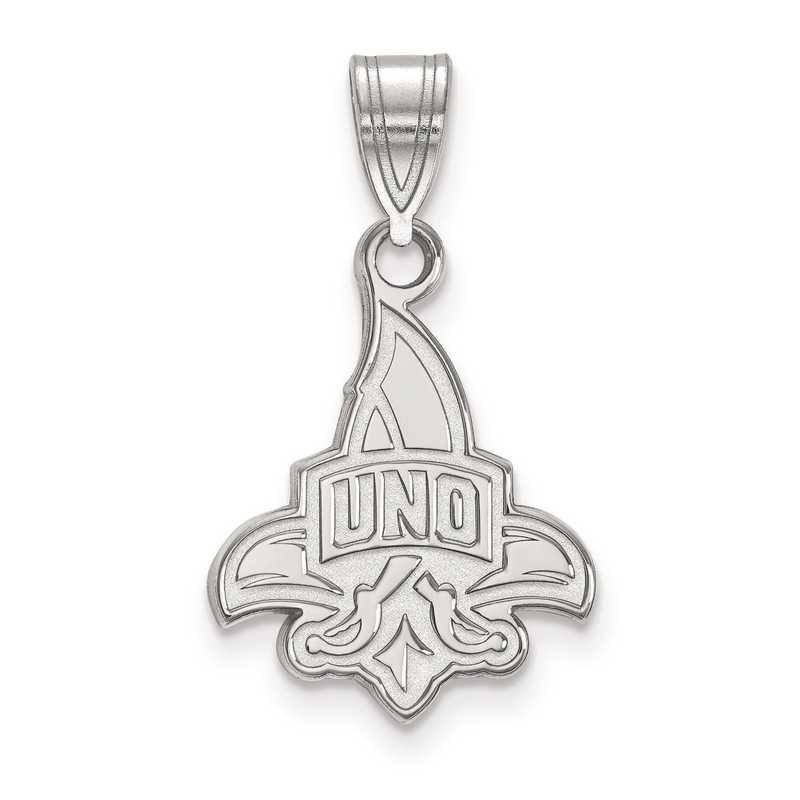 SS002UNO: SS LogoArt University of New Orleans Medium PEND