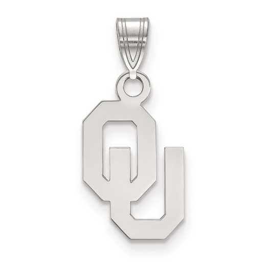 SS002UOK: SS LogoArt University of Oklahoma Small PEND