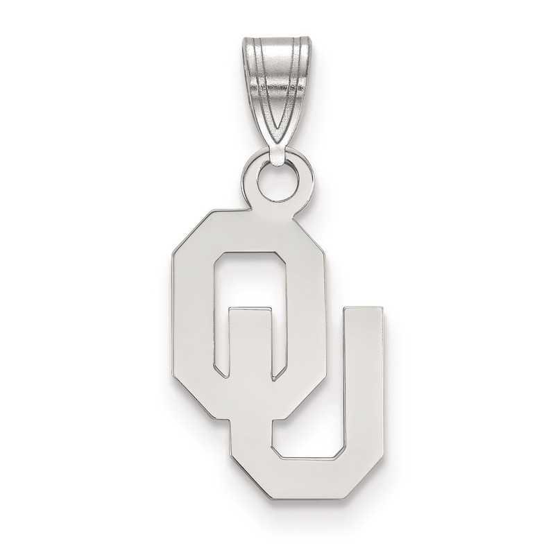 SS002UOK: SS LogoArt University of Oklahoma Small PEND