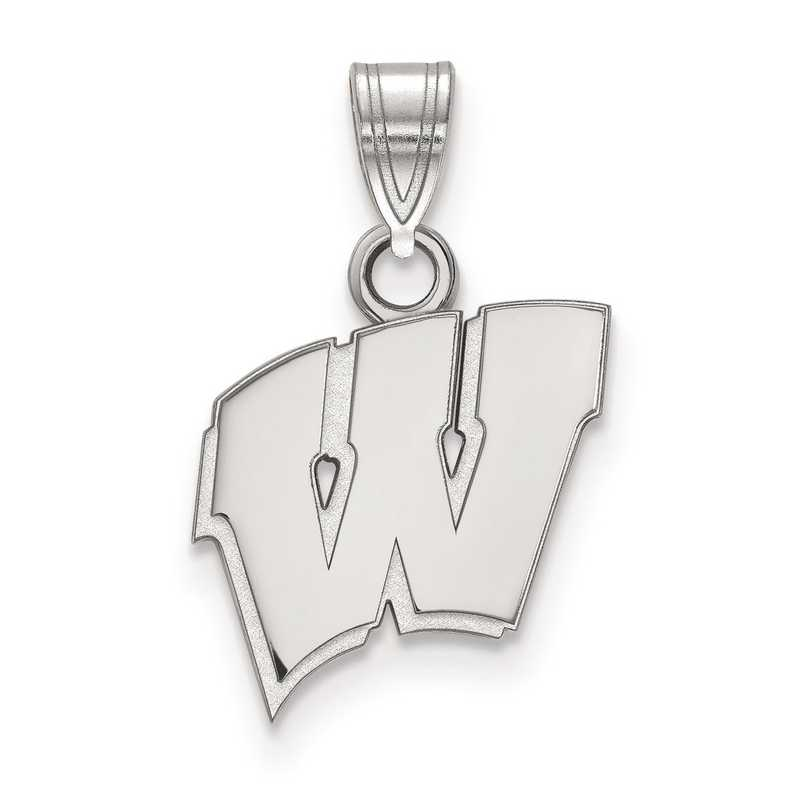 SS002UWI: SS LogoArt University of Wisconsin Small PEND