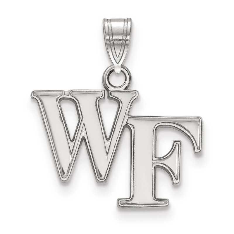 SS002WFU: SS LogoArt Wake Forest University Small PEND