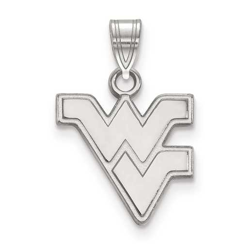 SS002WVU: SS LogoArt West Virginia University Small PEND