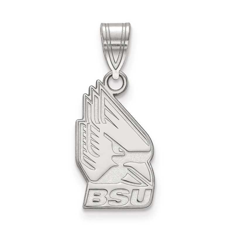 SS003BSU: SS LogoArt Ball State University Medium PEND