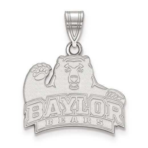 SS003BU: SS LogoArt Baylor University Medium PEND