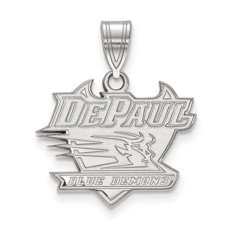 SS003DPU: SS LogoArt DePaul University Medium PEND