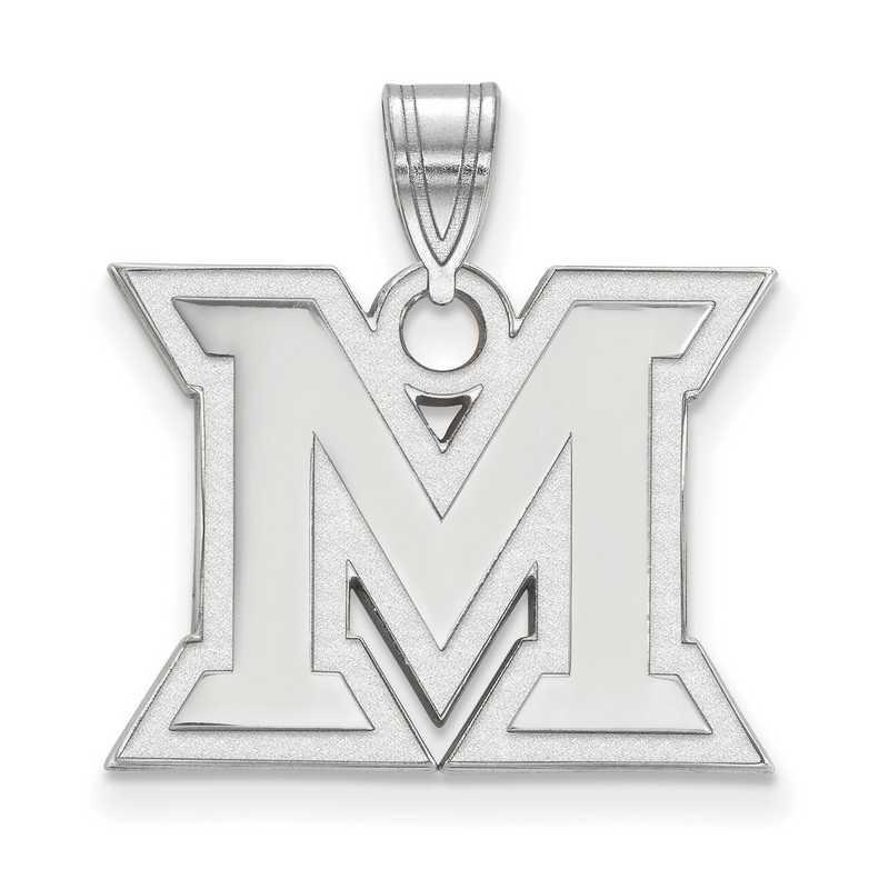 SS003MU: SS LogoArt Miami University Medium PEND