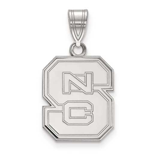 SS003NCS: SS LogoArt North Carolina State University Medium PEND