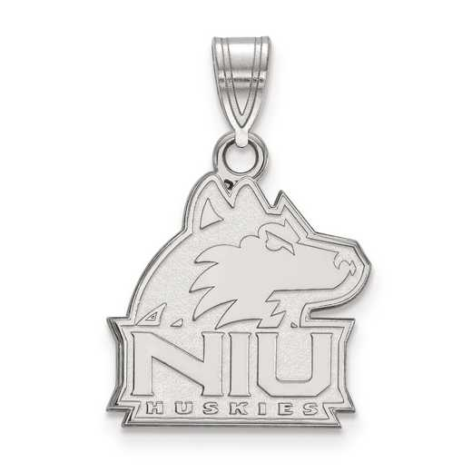 SS003NIU: SS LogoArt Northern Illinois University Medium PEND