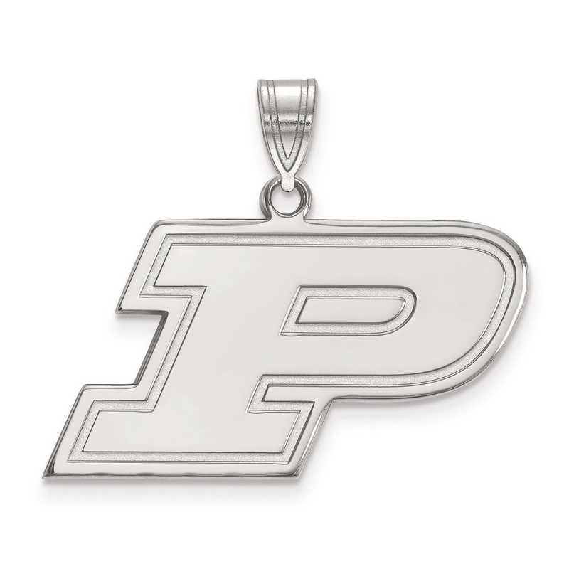 SS003PU: SS LogoArt Purdue Medium PEND