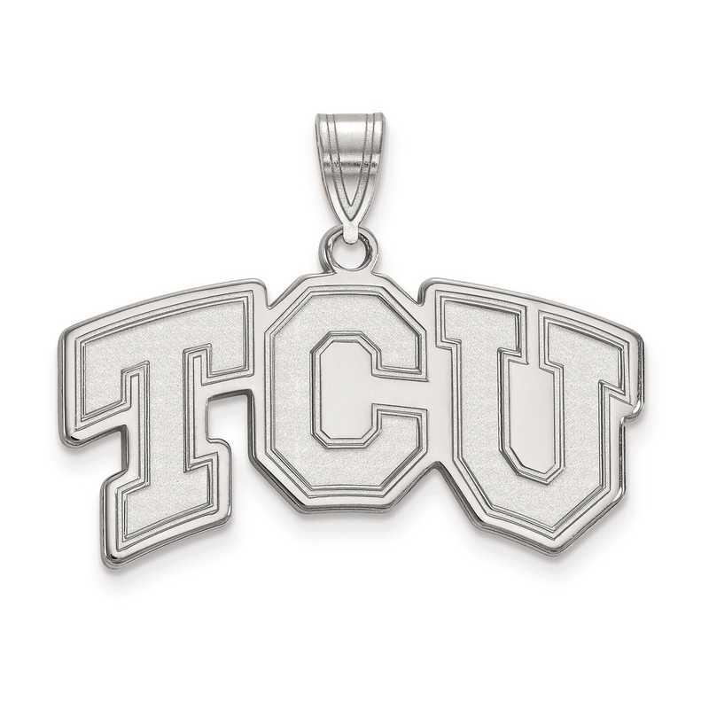 SS003TCU: SS LogoArt Texas Christian University Medium PEND