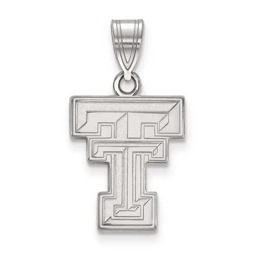 SS003TXT: SS LogoArt Texas Tech University Medium PEND