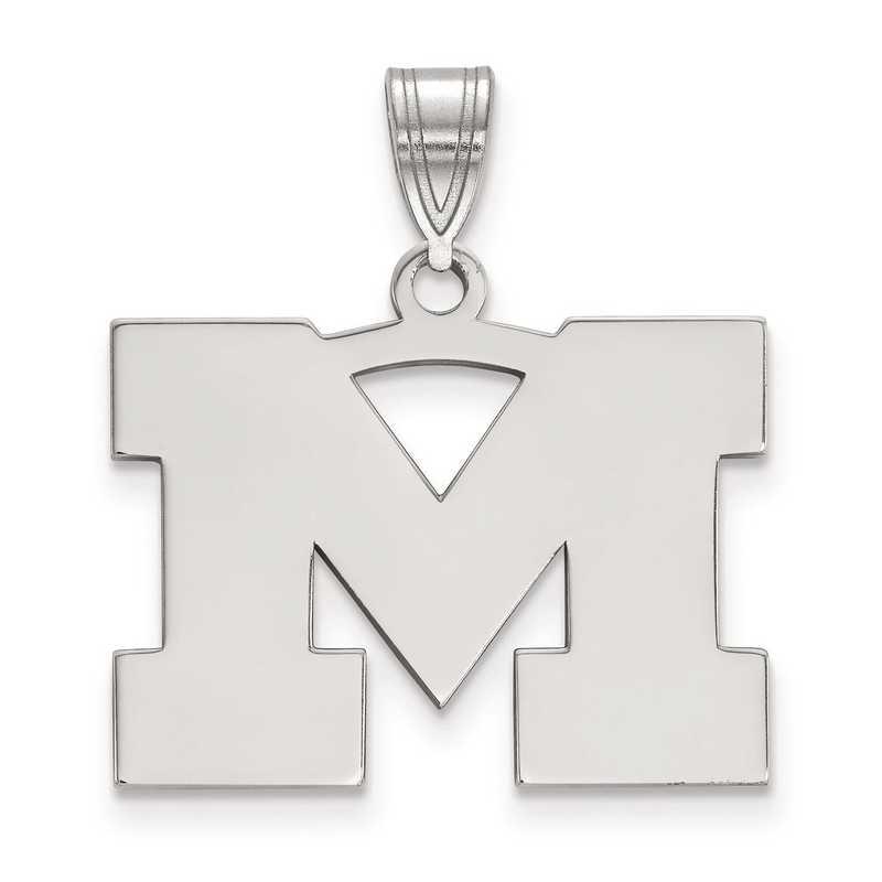 SS003UM: SS LogoArt Michigan (Univ Of) Medium PEND