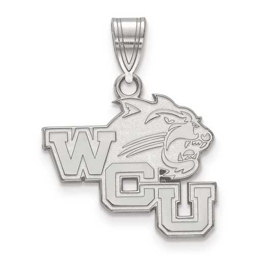 SS003WCU: SS LogoArt Western Carolina University Medium PEND