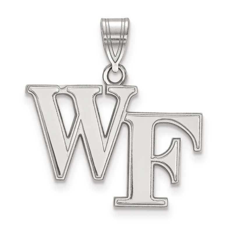 SS003WFU: SS LogoArt Wake Forest University Medium PEND