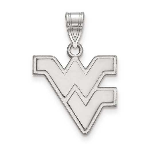 SS003WVU: SS LogoArt West Virginia University Medium PEND