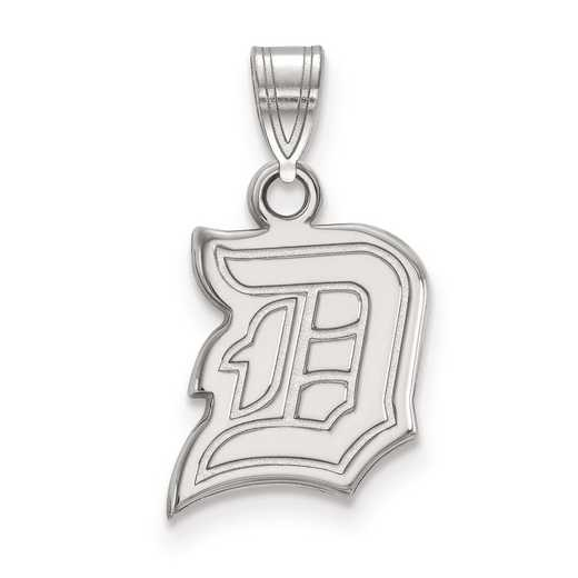 SS005DUU: SS LogoArt Duquesne University Small Pendant
