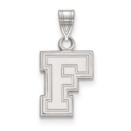 SS005FOU: SS LogoArt Fordham University Small Pendant