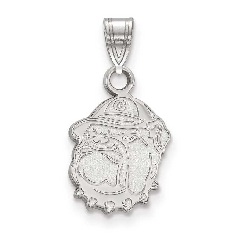 SS005GC: SS LogoArt Georgetown University Small Pendant
