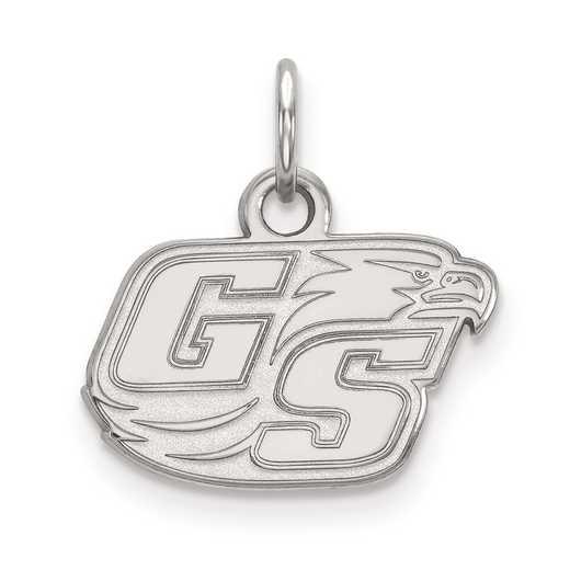 SS008GSU: SS LogoArt Georgia Southern Univeristy XS Pendant