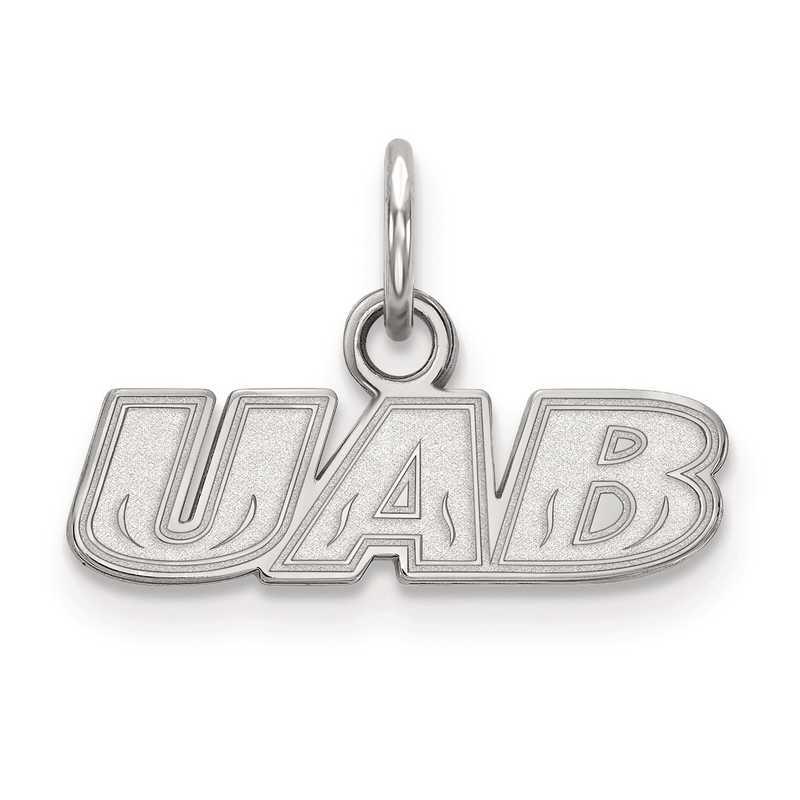 SS008UAB: SS LogoArt University of Alabama at Birmingham XS Pendant