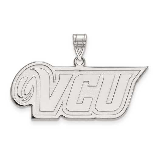 SS008VCU: SS LogoArt Virginia Commonwealth University Medium PEND