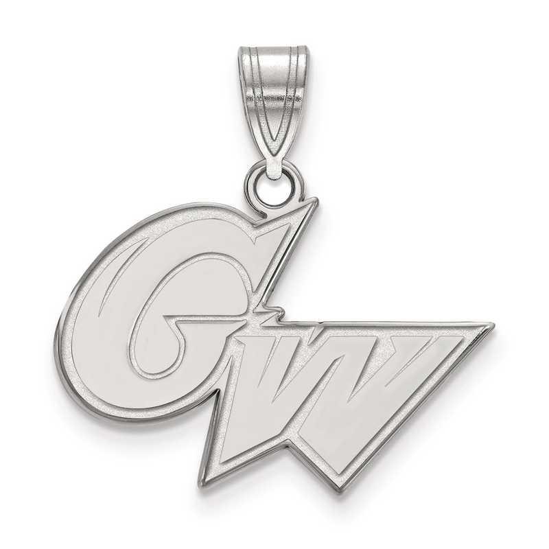 SS010GWU: SS LogoArt The George Washington University Medium PEND