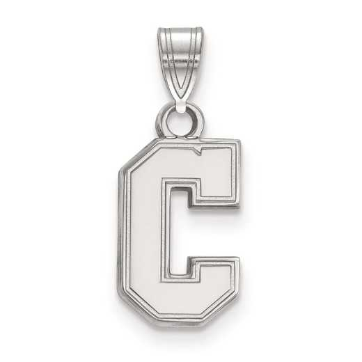 SS012CHC: SS LogoArt College of Charleston Small Pendant