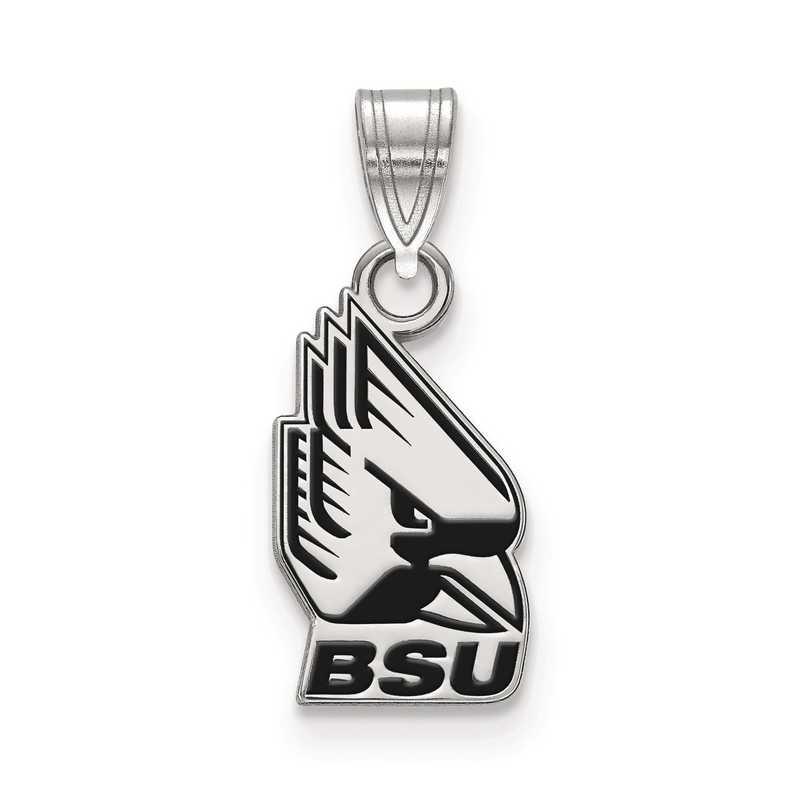 SS013BSU: S S LogoArt Ball State University Small Enamel Pend