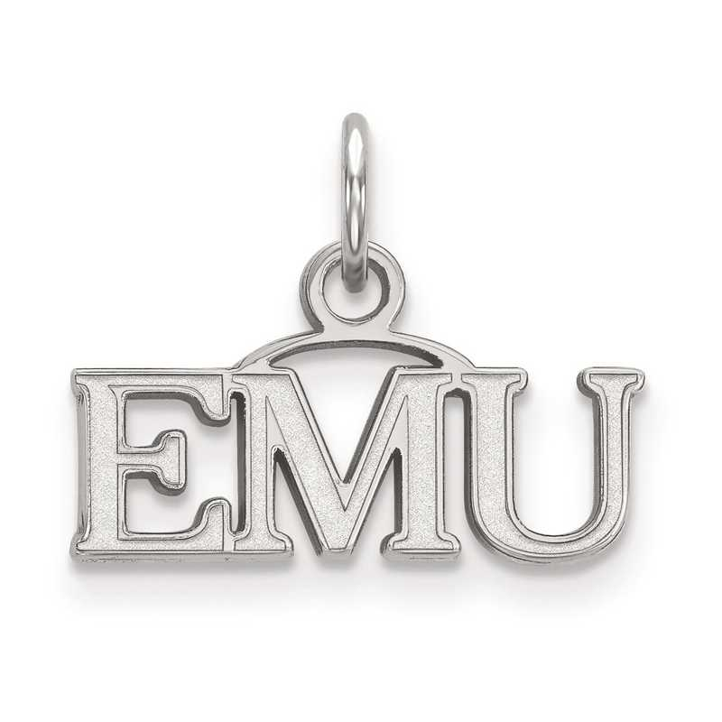 SS013EMU: SS LogoArt Eastern Michigan University XS Pendant