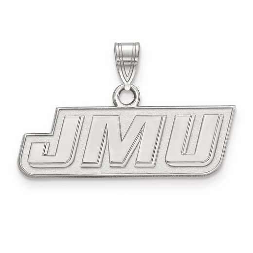 SS013JMU: SS LogoArt James Madison University Small Pendant