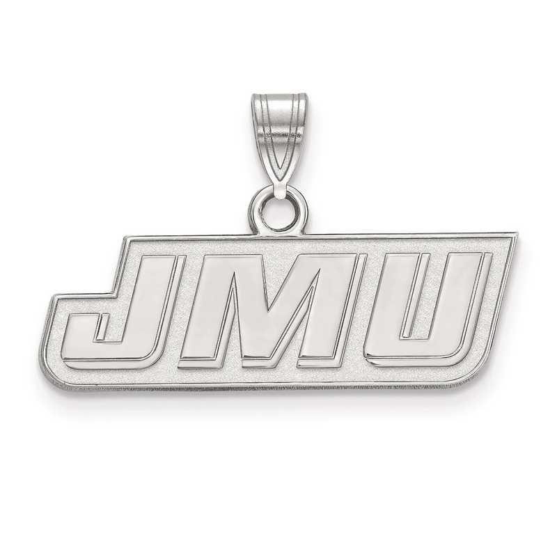 SS013JMU: SS LogoArt James Madison University Small Pendant