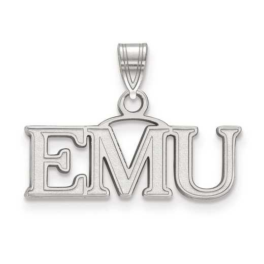SS014EMU: SS LogoArt Eastern Michigan University Small Pendant