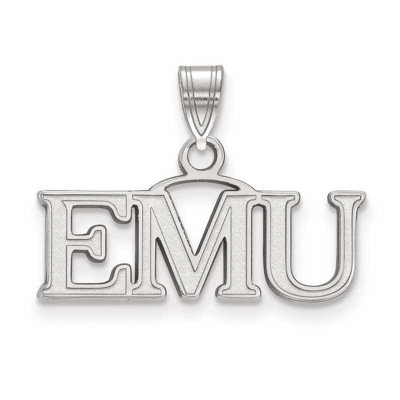 SS014EMU: SS LogoArt Eastern Michigan University Small Pendant