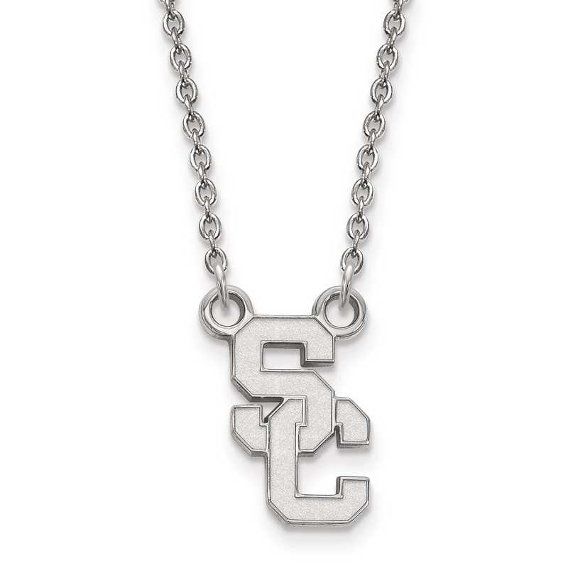SS014USC-18: SS University Southern California Small PEND w/ Necklace