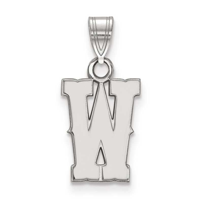 SS014UWY: SS LogoArt The University of Wyoming Small PEND